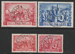 697/700 Au Profit Des Sinistrés / Voor Onze Geteisterden Oblit/gestp Centrale - Used Stamps