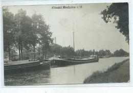Maasmechelen Mechelen A/Maas  Kanaal ( Geplooid !!! ) Péniche - Maasmechelen