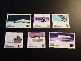 K44816 -set MNH Roiss Dependence 1972 - - Nuevos