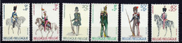Belgique 6,timbres Neufs ** TTB Uniformes Militaires N° 2030, 2031, 2032, 2108,2109,2110 - Unclassified