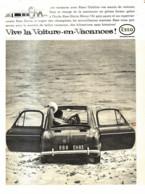 """PUB  STATION """" ESSO """" Et La """" VESPA 400  """"    1960  ( 2 ) - Other"""