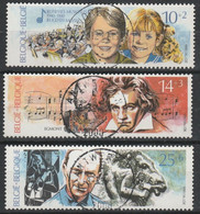 2387/2389 Culturele Oblit/gestp Centrale - Used Stamps