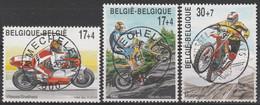 2819/2821 Motosport Oblit/gestp Centrale - Used Stamps