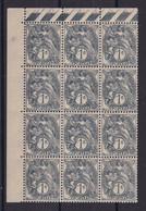 D 251 / N° 107 BLOC DE 12 NEUF** - Collections