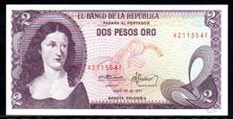 561-Colombie Billet De 2 Pesos Oro 1977-421 Neuf - Kolumbien