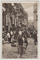 China Hong Kong Street Vendor Market Markt Shop RPPC Real Photo 12007 Post Card POSTCARD - China (Hong Kong)
