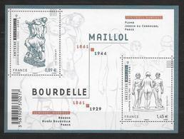 France 2011 Bloc Feuillet N° F4626 Neuf Antoine Bourdelle Et Aristide Maillol à La Faciale - Ungebraucht