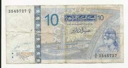 Tunisia 10 Dinars 2005 - Tusesië