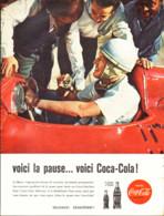 "PUB    "" COCA COLA  ""  1960  ( 23 ) - Affiches Publicitaires"