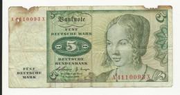 Germany 5 Mark 1960 - 5 Deutsche Mark