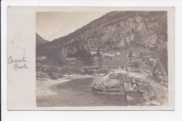 CARTE PHOTO ITALIE CERESOLE REALE - Other Cities