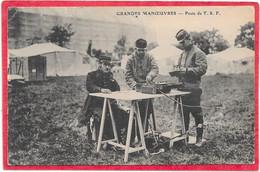 Poste De T.S.F RADIO - Grandes Manoeuvres - Militaires - Equipment