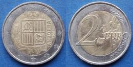 ANDORRA - 2 Euro 2018 KM# 527 Bi-metallic - Edelweiss Coins - Andorra