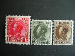 Belgique.401/03** Roi Léopold III - Nuevos