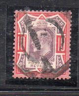 1578 490 - GRAN BRETAGNA 1902 , 10 Pence Unificato N. 116  Usato. - Gebraucht