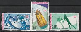 BENIN - P.A N°248/50 ** (1976) J.O D'Innsbruck - Benin – Dahomey (1960-...)