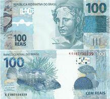BRAZIL       100 Reais       P-257[f]       2010 (2019)       UNC - Brazil