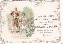 SEINE MARITIME ROUEN TROUSSEAUX ET LAYETTES LUCAS LECLIN - Other