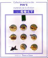 ARMEE  Matériels De La Division DAGUET    Lot De 10 Pin's Sur Présentoir Carton - Army