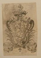 Ex-libris Héraldique XVIIIème  - Espagne - DA SILVA PESSANHAS - Bookplates