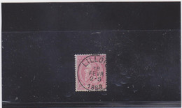 Belgie Nr 46 Lillois - 1884-1891 Leopold II