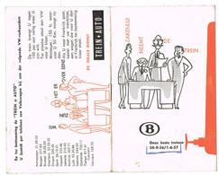 'Onze Beste Treinen';  Dienstregeling Treinen1956 - 1957; 12 Bladzijden ( 3 Scans) - Europe