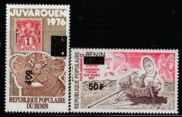 BENIN - P.A N°304/5 ** (1982) Surchargés - Benin – Dahomey (1960-...)