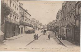 CPA 50  SAINT LO   LA RUE TORTERON - Saint Lo