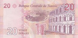 TUNISIA P. 97 20 D 2017 UNC - Tunisia