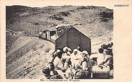 DJIBOUTI - Indigènes - Chemin De Fer Franco-éthiopien - Ed. Inconnu 62 - Dschibuti