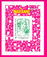 Marianne De Ciappa Et Kawena N° 864A Neuf Adhesif - Adhésifs (autocollants)