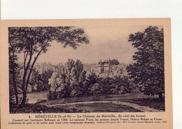 CPSM - 91 - 8 -   MEREVILLE -  LE CHATEAU DE MEREVILLE DU COTE DU LEVANT - - Mereville