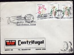 Argentina - 1987 - Carta - Circulada En Bs As - Flores - Lapacho Negro - Notro-ciruelillo - Bandeleta Parlante - A1RR2 - Lettres & Documents