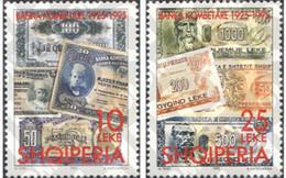 Ref. 112751 * MNH * - ALBANIA. 1995. 60TH ANNIVERSARY OF THE FIRST NATIONAL BANK . 60 ANIVERSARIO DEL PRIMER BANCO NACI - Monedas