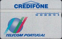 PORTUGAL TP01 L&G - Credifone - Prata 1 (with Organizaçao CTT) - 104A - Mint - Portugal