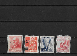 Algerie Yv. 196 - 199 Neufs - Unused Stamps