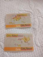 Carte Fidélité Lenticulaire Côté Nature Jardinerie - Gift Cards