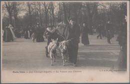 Paris Vécu , Aux Champs Elysées , La Voiture Aux Chèvres , Animée - Pariser Métro, Bahnhöfe