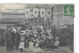 LE DORAT  OSTENSIONS      1911    LES NOELISTES   GROUPE    PERSONNAGES    DEPT  87 - Le Dorat