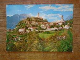 """Italie , Gemona Del Friuli , Castello """""""" Beau Timbre """""""" - Andere Steden"""