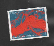 FRANCE / 2019 / Y&T N° 5367 ** : Oeuvre De Fabienne Verdier X 1 - Neufs