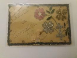 CARTE BRODEE (amitiés De Lorraine 1917) - Embroidered