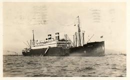 Bateau A Identifier  Carte Envoyee De New York En 1930   Voir  Scan - Piroscafi