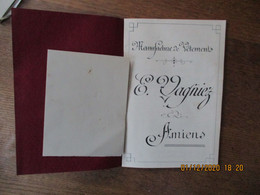 AMIENS E.VAGNIEZ MANUFACTURE DE VÊTEMENTS CATALOGUE 24 PAGES - Advertising