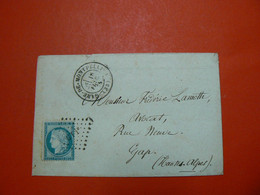 D 253 / CERES N° 60 SUR LETTRE - 1871-1875 Ceres