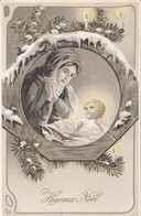 Fêtes - Heureux Noël - Crèche Enfant Jésus - Vierge Marie - Carte Précurseur - Other