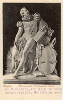 "Roma - Antica Cartolina Postale Italiana ""Carte Postale D'Italie"" MONUMENTO DI TORQUATO TASSO - D14D - Sculpturen"