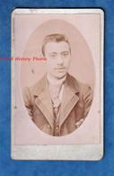 Photo Ancienne CDV Vers 1890 1900 - MEREVILLE - Portrait D'un Jeune Homme - Photographe Maurice Mulard - Garçon Costume - Antiche (ante 1900)