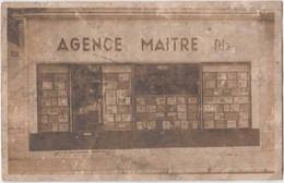 Nice. Agence Immobilière Maitre Et Fils. CPA Rare, Mais Etat Très Moyen, Voir Les 2 Scans. Vraie Photo - Other