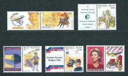 Zegels 2996 - 3000 ** Postfris - Unused Stamps